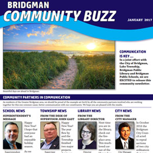 Cover of January 2017 Community Buzz