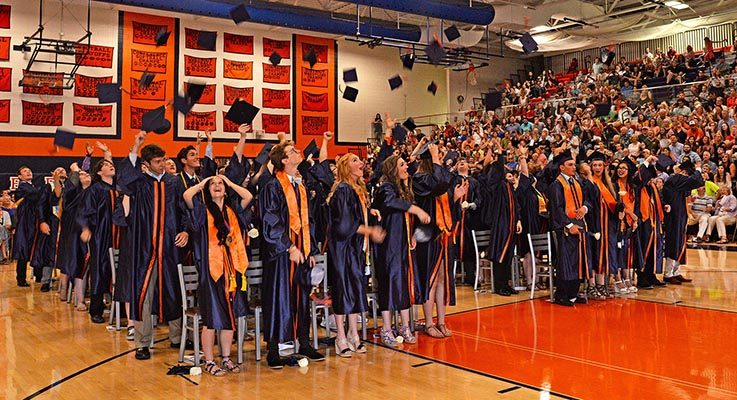 Bridgman Graduation 2017