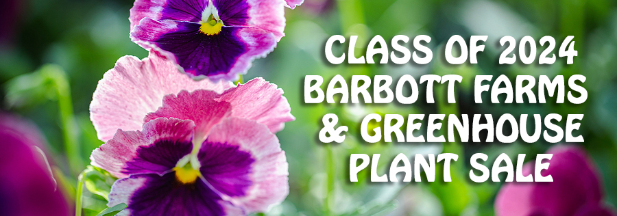 Class of 2024 Barbott Farms & Greenhouse Plant Sale